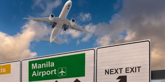 Ankunft-Manila-Flughafen